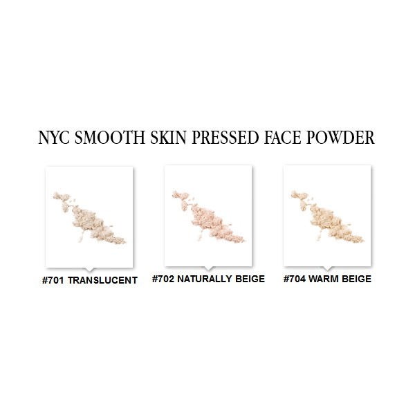 Nyc Smooth Skin Pressed Face Powder Naturally Beige
