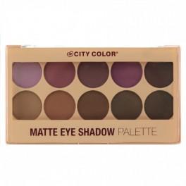 City Color Matte Eye Shadow Palette