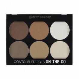 City Color Contour Effects ON THE GO Palette