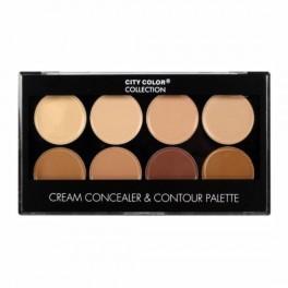 City Color Cream Concealer & Contour Palette