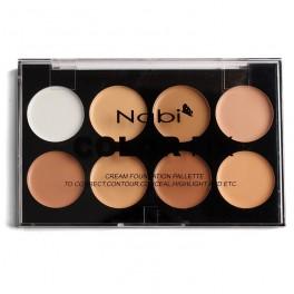 Nabi Color Fix Cream Foundation Palette CF-01B