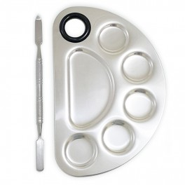 Mixing Palette Stainless Pro 6 Shape