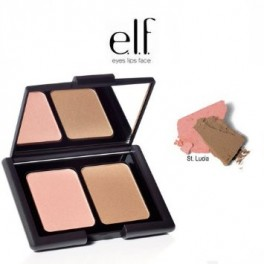 e.l.f. Contouring Blush & Bronzing Powder - St. Lucia