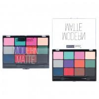 Beauty Treats Modern Matte Eyeshadow Palette - Bright