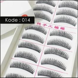 Bulu Mata Taiwan 014 Eyelashes