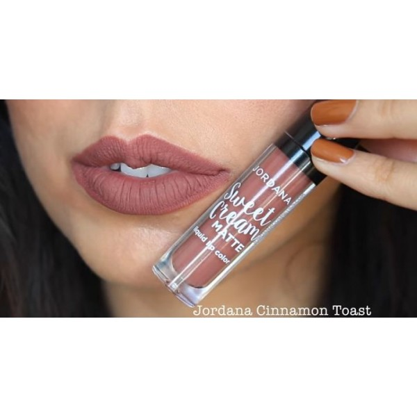 Jual Jordana Sweet Cream Matte Liquid Lip Color Domidoki