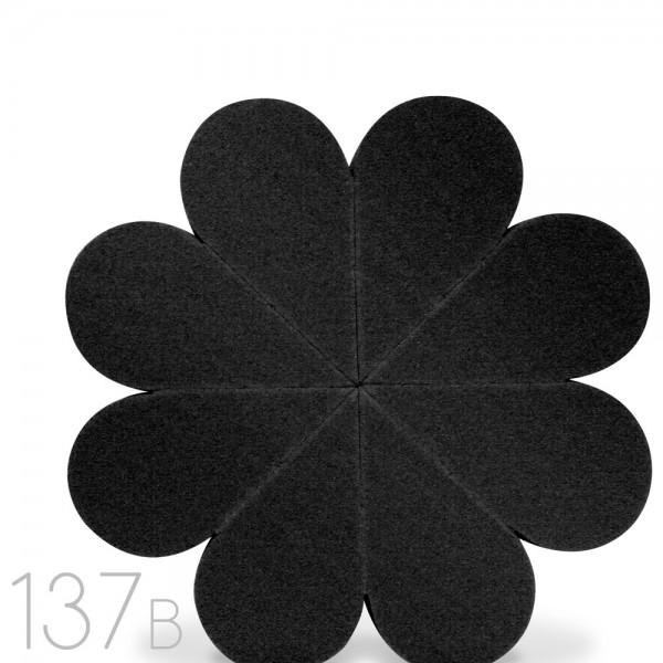 Lamica 137B Flower Sponge - Black