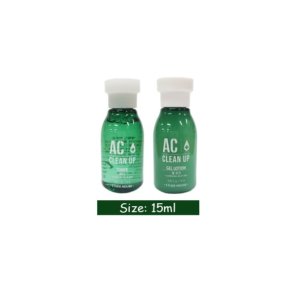 Etude House AC Clean Up Toner & Gel Lotion (15ml) Maximize. Product by: