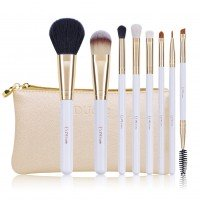 Ducare U802 8 in 1 Golden White Makeup Brush Set