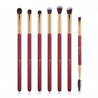 Ducare DF0727 7 in 1 Golden Red Eye Brush Set