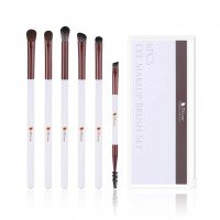 Ducare DF0626 6 in 1 Rosy White Eye Brush Set