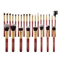 Ducare DF2730 27 in 1 Professional Red Makeup Brush Set