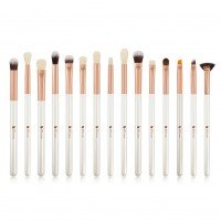 Ducare DF1536 15 in 1 Ultimate White Eye Brush Set