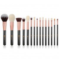 Ducare DF1538 15 in 1 Ultimate Black Makeup Brush Set