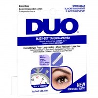 DUO Quick-Set Strip Lash Adhesive - CLEAR (5g) (Dark Blue)