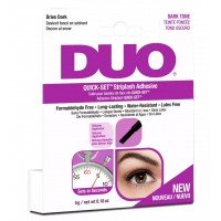 DUO Quick-Set Strip Lash Adhesive - DARK (5g) (Dark Pink)
