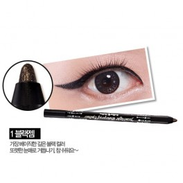 Holika Holika Jewel Light Waterproof Eyeliner No.1 Black Gem