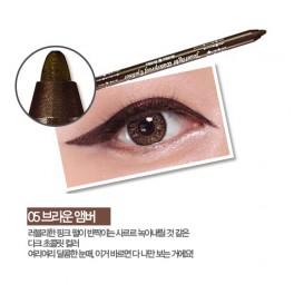 Holika Holika Jewel Light Waterproof Eyeliner No.5 Brown Amber