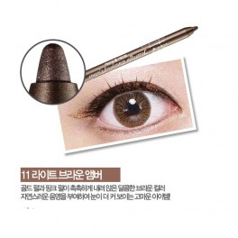 Holika Holika Jewel Light Waterproof Eyeliner No.11 Light Brown Amber